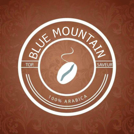 BLUE MOUNTAIN - Café 100% Arabica Logo
