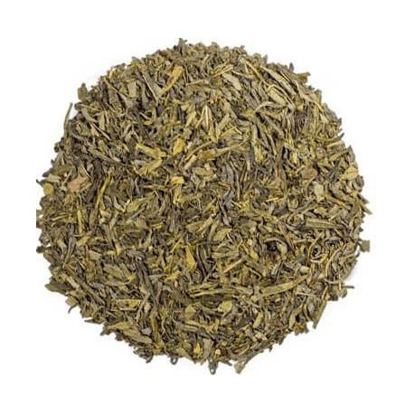 kusmi Tea thé vert à la fraise visuel feuille