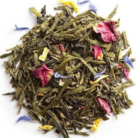 Palais des Thés, thé vert des Sables visuel feuilles