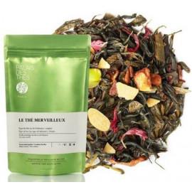 Palais des Thés, thé des Merveilleux visuel feuilles
