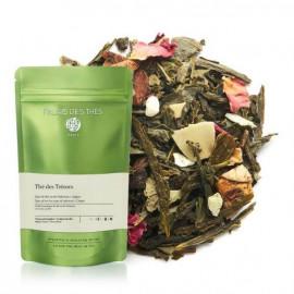 Palais des Thés, thé des Trésors visuel feuilles