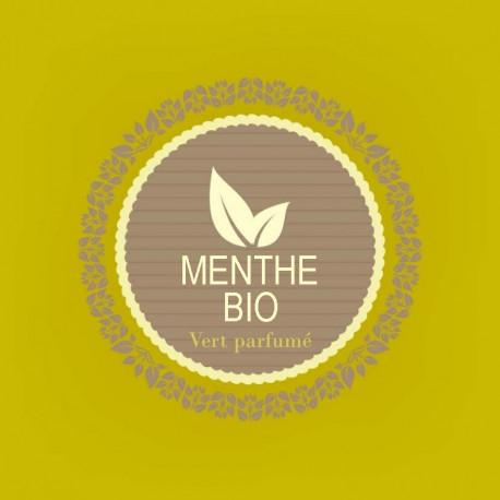 MENTHE - thé vert bio parfumé