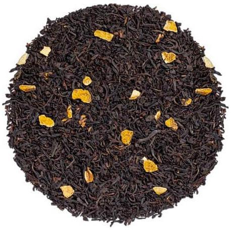 Kusmi tea prince Wladimir the noir bio visuel feuilles