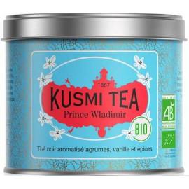 Kusmi tea prince Wladimir the noir bio boite métal 100 grammes