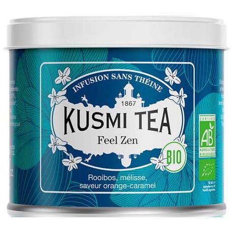 Kusmi TEA Lov is Zen / Feel Zen boite métal 100 grammes
