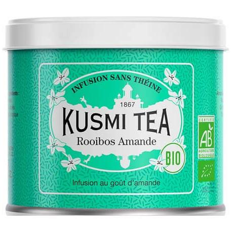 Kusmi Tea - Lov Organic Rooïbos Amandes boite métal 100 grammes