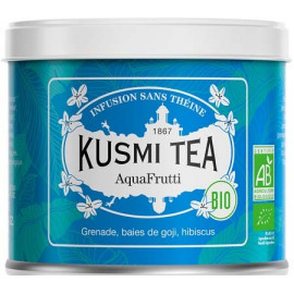 Kusmi Tea AquaFruti - Lov Organic Run For Lov Boite métal 100 grammes