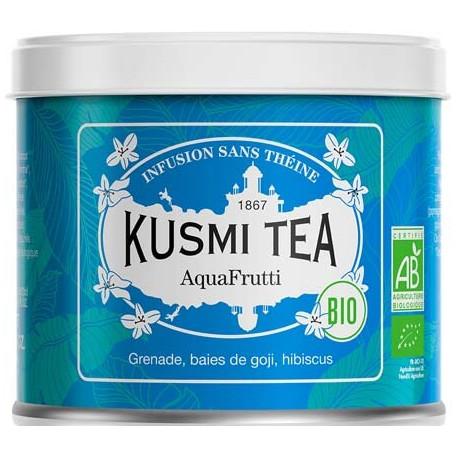 Kusmi Tea AquaFruti - Lov Organic Run For Lov Boite métal 100 grammes