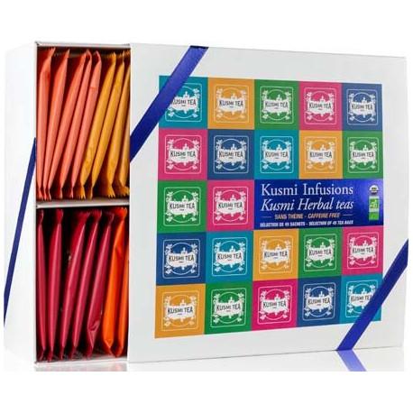 Kusmi Tea coffret infusions Bio