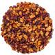 Kusmi Tea aqua exotica Lov Organic eau de fruits exotiques Visuel feuilles et fruits