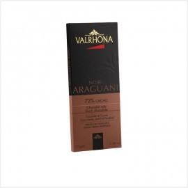 Tablette de chocolat noirAraguani 72% cacao - Valrhona