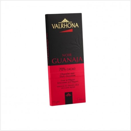 Tablette de chocolat noir au Guanaja 70% - Valrhona