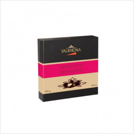 Coffret équinoxe amende noir 250g - chocolat Valrhona