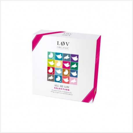 ALL MY LOV SELECTION - cadeau - thé Bio Lov Organic