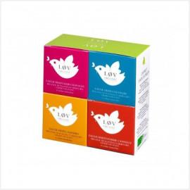 COFFRETS EAUX DE FRUITS - cadeau - thé Bio Lov Organic