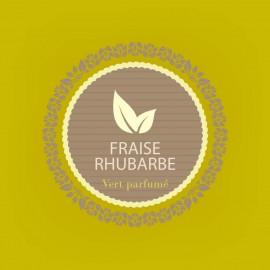 FRAISE RHUBARBE - thé vert parfumé