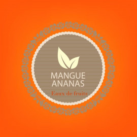 MANGUE ANANAS - eaux de fruits