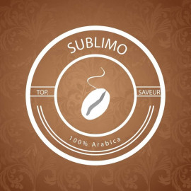 SUBLIMO - café 100% Arabica