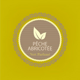 PECHE ABRICOTEE - thé vert parfumé