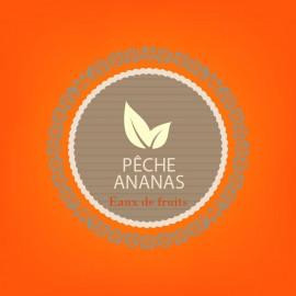 PECHE ANANAS - eaux de fruits