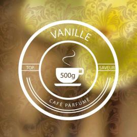 VANILLE-Café-parfumé-Vrac-500g