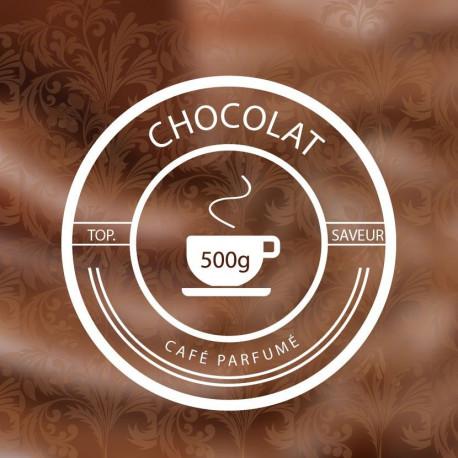 CHOCOLAT-Café-parfumé-Vrac-500g