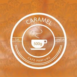 CARAMEL 500g - café parfumé aux arômes naturels