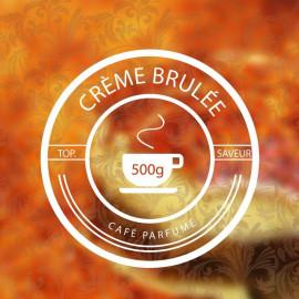 CRÈME BRÛLÉE 500g - café parfumé aux arômes naturels