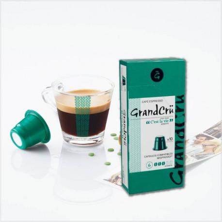 C'EST LA VIE - GrandCrü - Capsules compatibles Nespresso