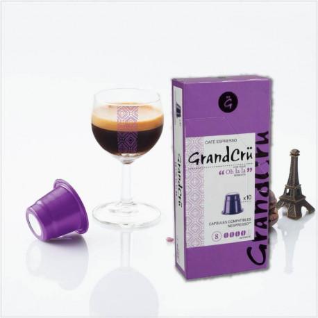 OH LA LA - Capsules-compatibles-Nespresso - GrandCru