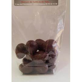 Oeufs de pâques Chocolat noir Valrhona