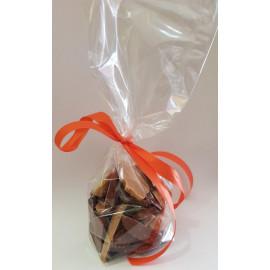 Fritures Chocolat Lait & Dulcey Valrhona