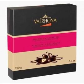 Coffret 250g équinoxe amande noir et lait - chocolat Valrhona