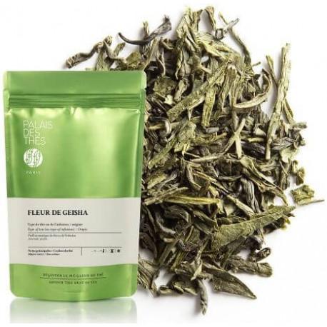 Palais des thés - FLEUR DE GEISHA - Thé vert Vrac 100 grammes