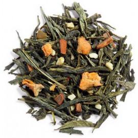 Palais des thés - THÉ DES AMANTS - Thé vert visuel feuilles