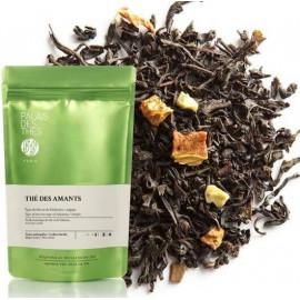 Palais des thés - Thé des Amants - Thé noir visuel feuille
