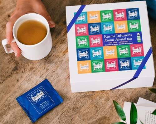 Merveilleux coffret Kusli Tea Infusions Bio