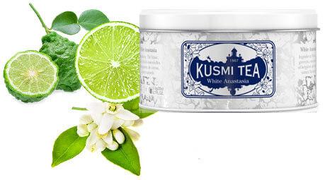 Kusmi Tea White Anastasia illustration