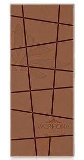 Tablette de Chocolat Lait Jivara Par Valrhona