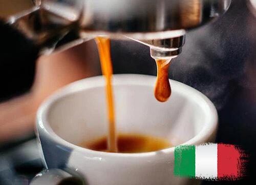 café serré Italien