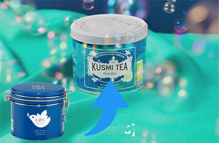 Lov is zen devient Feel Zen par Kusmi Tea