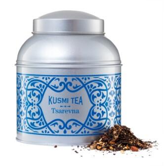 Kusmi tea tsarevna boite et thé