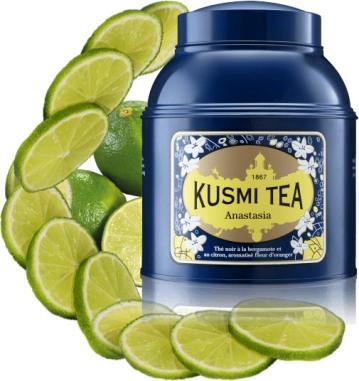 Présentation Kusmi Tea Anastasia thé noir de Chine