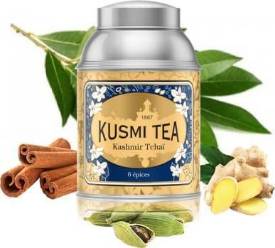 Présentation Kusmi Tea Kashmir Tchai