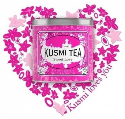 Présentation Kusmi Tea Sweet Love