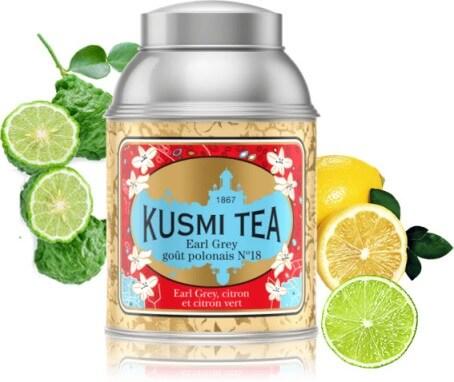 Présentation Kusmi Tea Earl Grey Goût Polonais