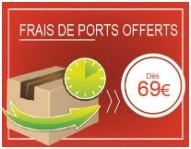 Frais de ports offerts 69€